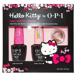OPI Hello Kitty Gelcolor Duo-Super Cute In Pink & Small + Cute