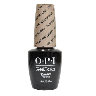 OPI This Silvers Mine! GelColor