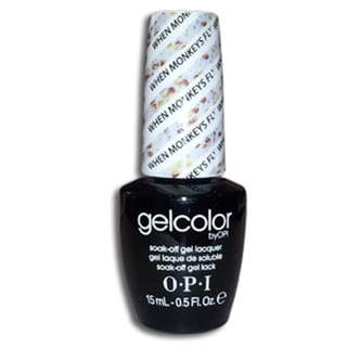 OPI When Monkeys Fly GelColor