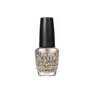 OPI Spotlight on Glitter Nail Lacquer Chasing Rainbows