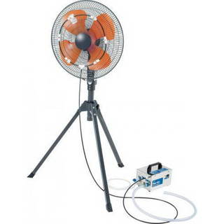 iLIVING Best Cooling System Fan Misting Kit with 0.15 mm Anti-Drip Nozzles (Fan Not Included)