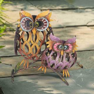Sunjoy Two Whimsical Owls