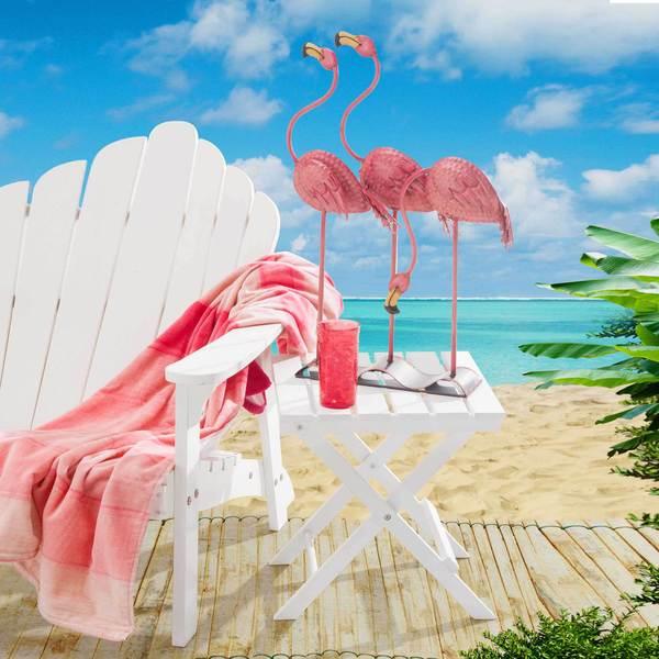 Sunjoy Three Flamingos
