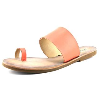 Lucky Brand Women's 'Baheeti' Orange Synthetic Sandals