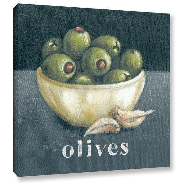 Art Marketing Ltd 'Olives' Gallery Wrapped Canvas