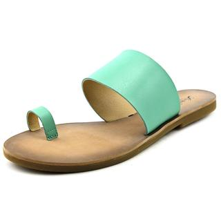 Lucky Brand Women's 'Baheeti' Green Synthetic Sandals