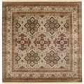 Hand-knotted Isfahan Collection Wool Rug (8' Sq)