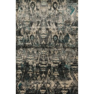 Kingsley Ikat Ivory/ Multi Rug (9'2 x 12'2)