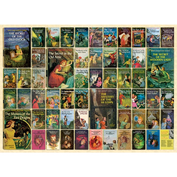 Cobble Hill: Nancy Drew 1000 Piece Jigsaw Puzzle