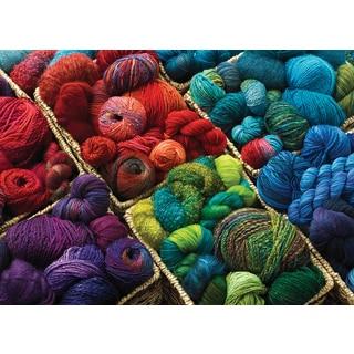 Cobble Hill: Plenty of Yarn 1000 Piece Jigsaw Puzzle