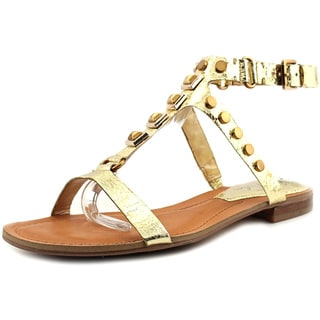 Marc Fisher Women's 'Bane' Faux Gold Leather Sandals
