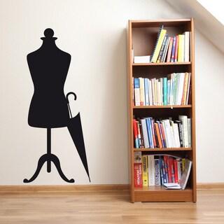 Mannequin 2 Wall Decal Vinyl Art Home Decor