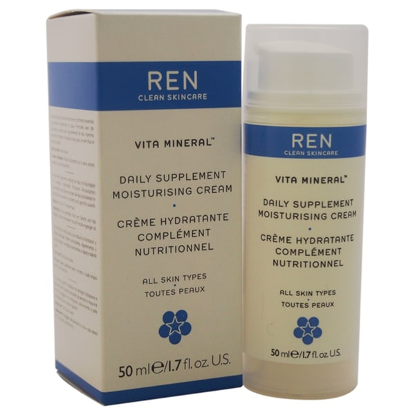 REN Vita Mineral Daily Supplement 1.7-ounce Moisturising Cream