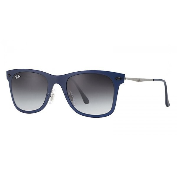 Ray-Ban Wayfarer Light Ray Gunmetal Sunglasses, Pink Lenses - Rb4210 8053672604290