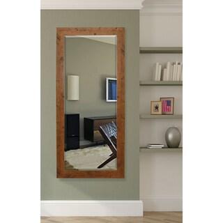 American Made Rayne 30.5 x 71-inch Rustic Light Walnut Extra Tall Mirror