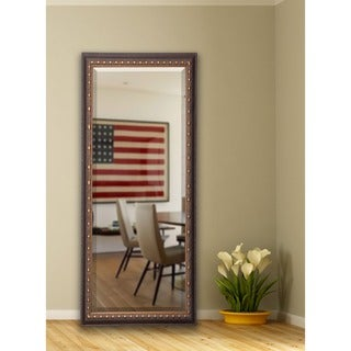American Made Rayne 28.5 x 69-inch Traditional Cameo Bronze Extra Tall Mirror