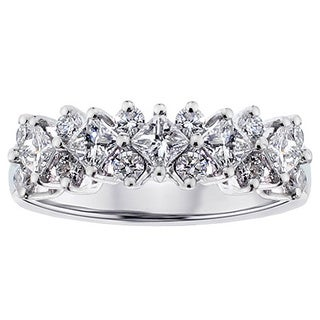 Platinum 1 1/5ct TDW Diamond Ring (G-H, SI1-SI2)