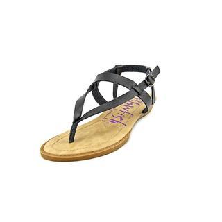 Blowfish Women's 'Berg' Faux Black Leather Sandals