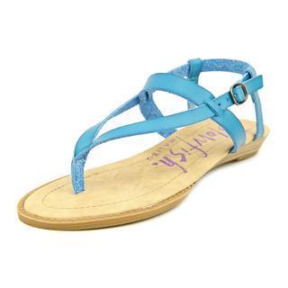 Blowfish Women's 'Berg' Faux Blue Leather Sandals