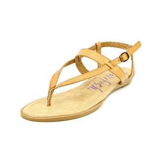Blowfish Women's 'Berg' Faux Tan Leather Sandals