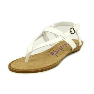 Blowfish Women's 'Berg' Faux White Leather Sandals