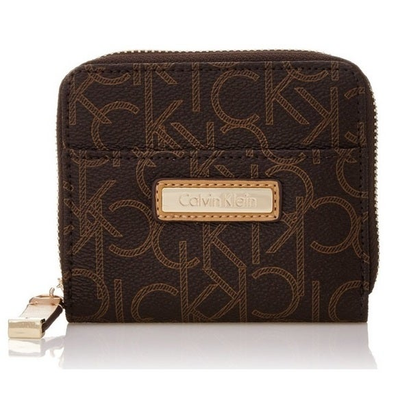 Calvin Klein Monogram Brown Signature Wallet