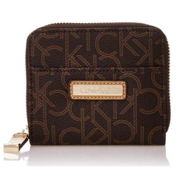 Calvin Klein Monogram Brown Signature Wallet