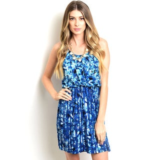 Shop the Trends Women's Sleeveless Floral Missy Dress