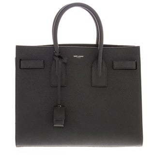 Saint Laurent Small Grained Leather 'Sac de Jour' Tote