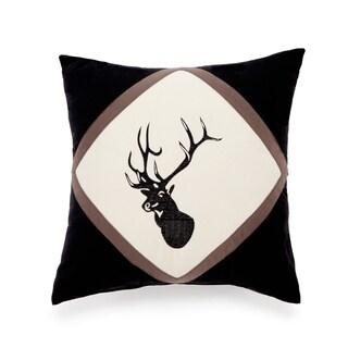 True Timber Pieced Stripe Deer Decorative Pillow