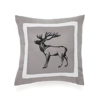 True Timber Snowfall Elk Decorative Throw Pillow