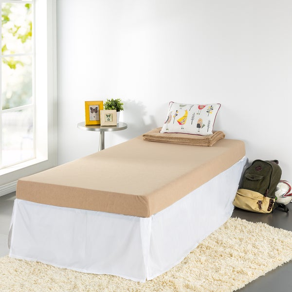 Priage Beige Youth 5-Inch Twin-Size Memory Foam Mattress