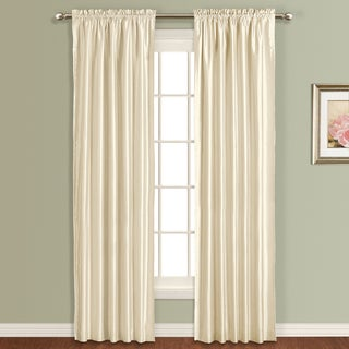 Lincoln Faux Silk Lined Curtain Panel (single panel)