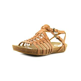 Baretraps Women's 'Hendrix' Brown Leather Sandals