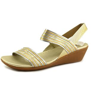 Baretraps Women's 'Melody' Gold Leather Sandals