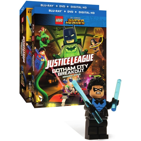 LEGO DC Comics Super Heroes: Justice League: Gotham City Breakout (Blu-ray Disc) 18220985