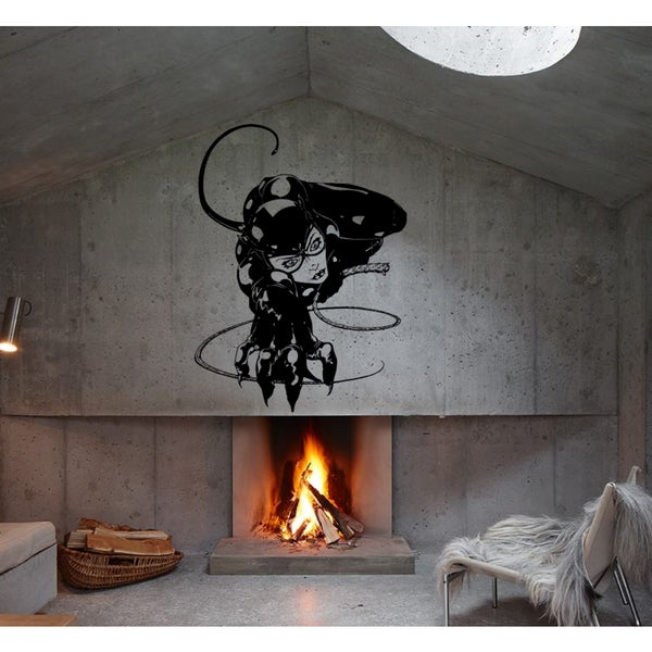 Catwoman sexy Wall Art Sticker Decal