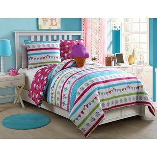 VCNY Abby 3 & 4-piece Reversible Comforter Set