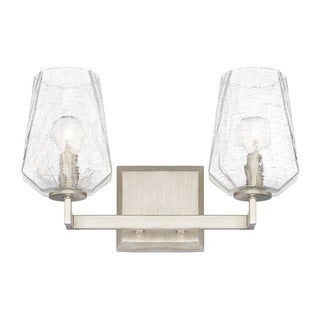 Capital Lighting Arden Collection 2-light Brushed Silver Bath/Vanity Light