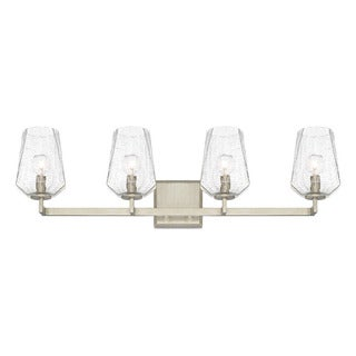 Capital Lighting Arden Collection 4-light Brushed Silver Bath/Vanity Light