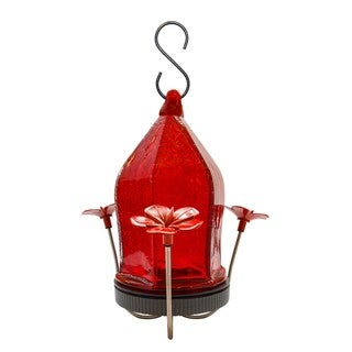 Nature's Way Advanced Bird Products Crackled Jewel Hummingbird Feeder (Red)