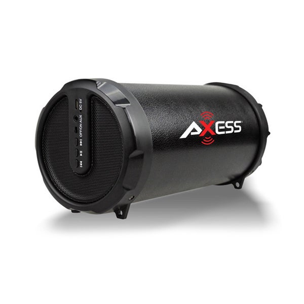 Axess HIFI Bluetooth 3-inch Subwoofer and 2-inch Horn 2.1 Speaker (Black) SPBT1029