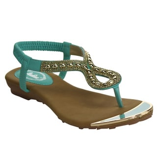 ITALINA Women's Strapped Sandals