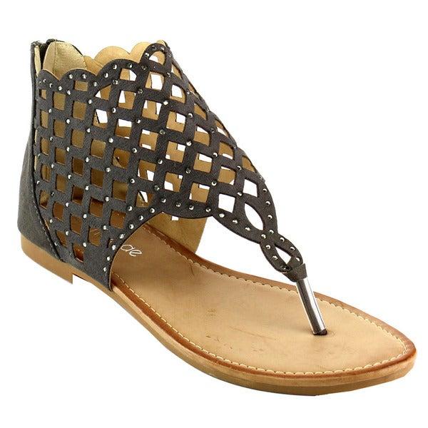 MI.IM Ankle Cuff Thong Sandal