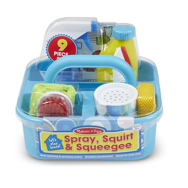 Melissa & Doug Let's Play House! Spray, Squirt & Squeegee Play Set 18223883