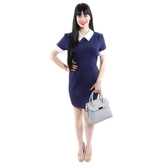 Hadari Women's Sailor Sheath Fashion Dress