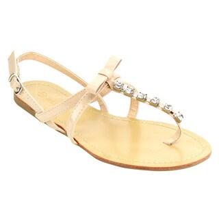 Wild Diva T-strap Bow Sandal