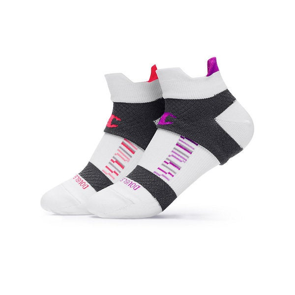 Champion Women's Double-Heel Shield Compression Running Socks (2 Pack)