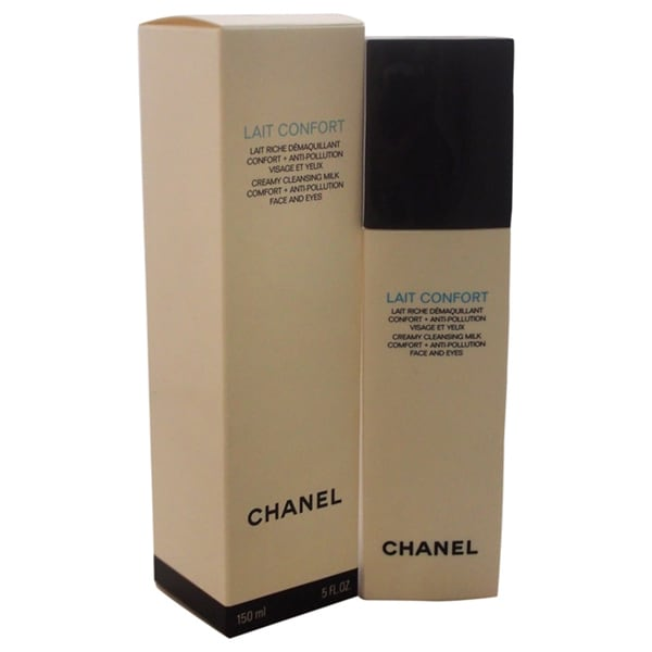 Chanel Lait Confort Creamy Cleansing Milk Comfort + Anti-Pollution 5-ounce Cleansing Milk