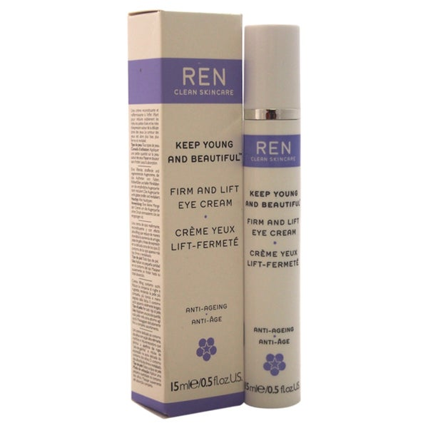 REN Keep Young and Beautiful Firm and Lift 0.5-ounce Eye Cream